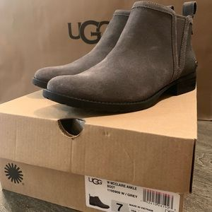 UGG McClaire Ankle Boot Grey Size 7